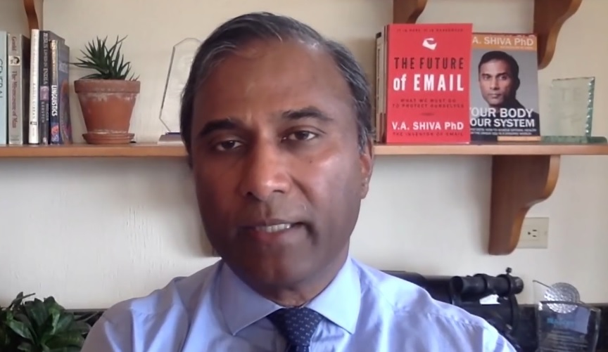 This will go down in history as the biggest hoax - Shiva Ayyadurai MIT-Engineer